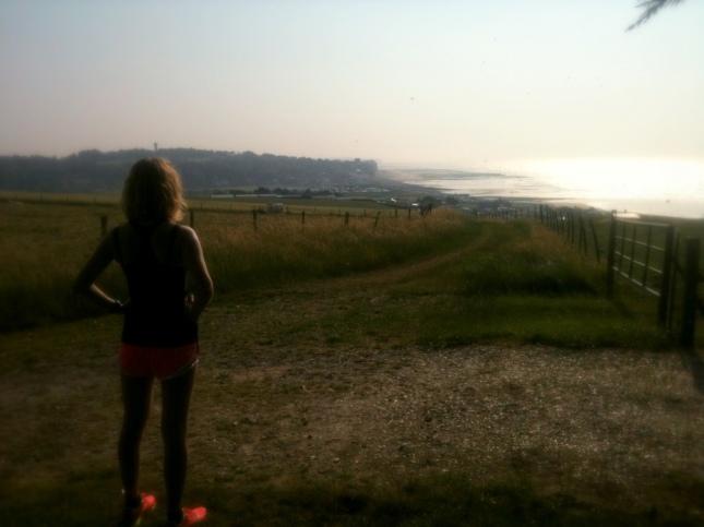 Run sur la côte