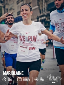 marjolaine 10 km paris centre